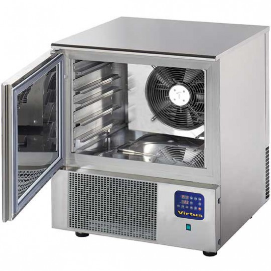 Cellule de refroidissement rapide, +3°C - 14kg, -18°C - 11 kg, 3x GN 1/1 ou 60x40