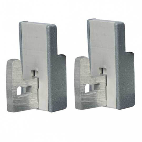 Kit d'assemblage angulaire pour rayonnage en aluminium p470 mm