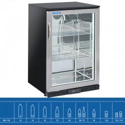 Réfrigérateur bar avec de 1 à 3  porte(s) battante(s) en verre, 133 litres, +1°C/+10°C