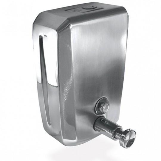 Distributeur de savon en acier inox
