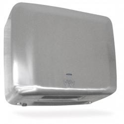 Sèche-mains en acier inox