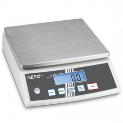 Balance de table en acier inox, charge utile maximum 30 kg, lecture 1 g