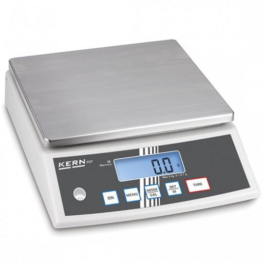 Balance de table en acier inox, charge utile maximum 30 kg, lecture 1 g
