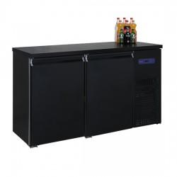 Refroidisseur de bouteilles avec 2 portes, 320 litres, -2°/+8°C