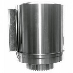 Distributeur de papier-mèche en acier inox