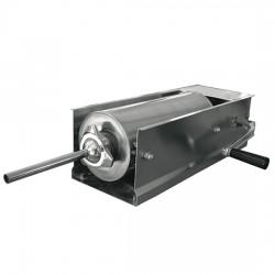 Extrudeuse saucisse manuelle, cylindre l350 mm, 5 litres