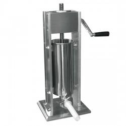 Extrudeuse saucisse manuelle verticale, cylindre l350 mm, 5 litres