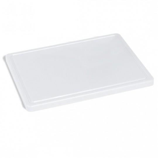 Planche à découper pour fromage avec rainure, 400x300 mm