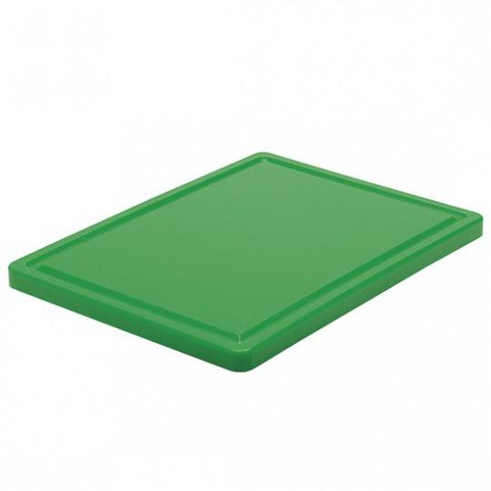 Planche à découper pour légumes avec rainure, 500x300 mm