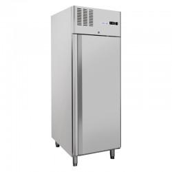 Armoire de congélation, 1 portes en inox, 550 litres, -18°C/-22°C