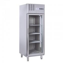 Armoire de congélation, 1 portes vitrée, 550 litres, -15°C/-18°C