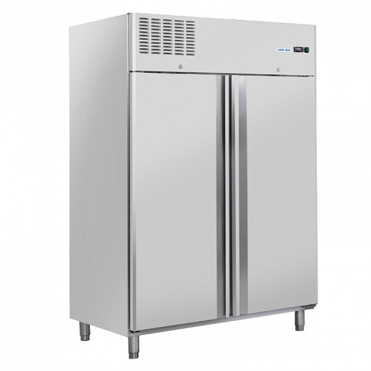 Armoire de congélation, 2 portes en inox, 1300 litres, -18°C/-22°C