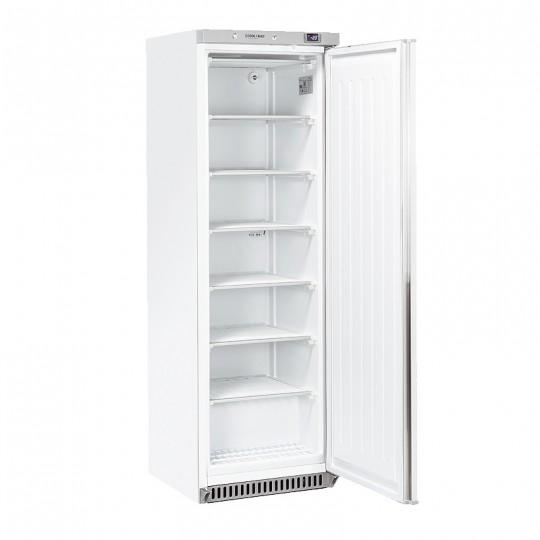 Armoire de congélation, 1 porte  externe blanche, ABS interne, 400 litres, -18°C/-23°C