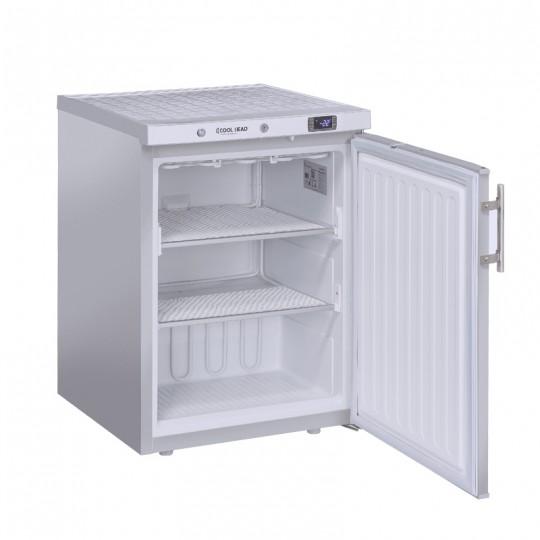 Armoire de congélation, 1 porte  inox, ABS interne, 200 litres, -18°C/-23°C