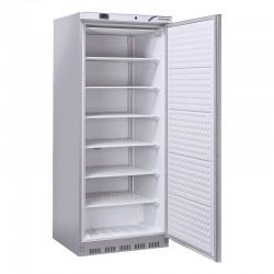Congélateur en inox, 1 porte  vitrée, ABS interne, 600 litres, -18°C/-22°C