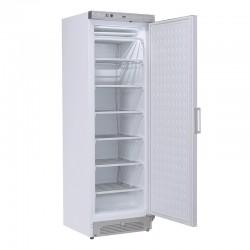 Congélateur en inox revêtement blanc, 1 porte, ABS interne, 300 litres, -12°C/-22°C