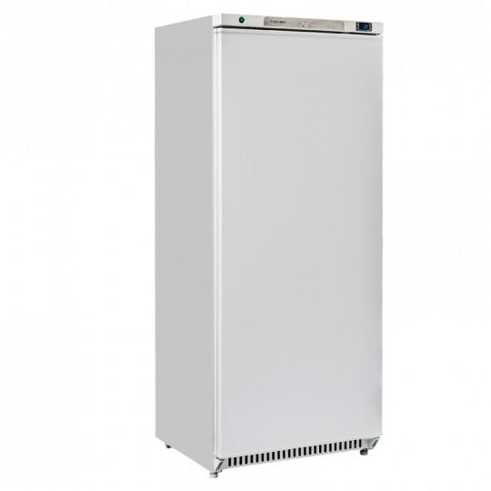 Armoire réfrigérée externe blanche, ABS interne, 1 porte, 600 litres, 0°/+8°C