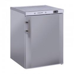 Armoire réfrigérée en inox, ABS interne, 1 porte, 200 litres, 0°/+8°C