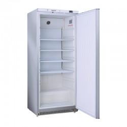 Armoire réfrigérée en inox, ABS interne, 1 porte, 600 litres, 0°/+8°C
