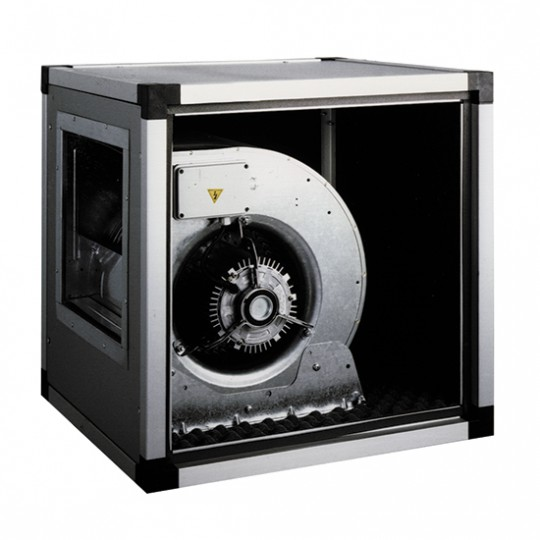 Unité d'extraction directement accouplée, 1 vitesse, 10000 m³/h