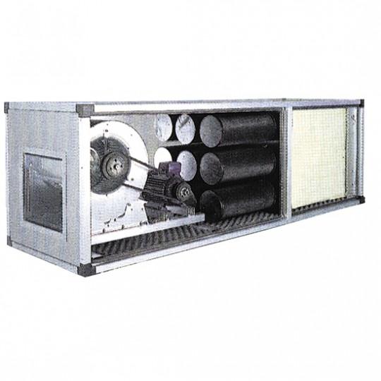 Unité filtrante et désodorisant avec moteur par transmission, 7500 m³/h