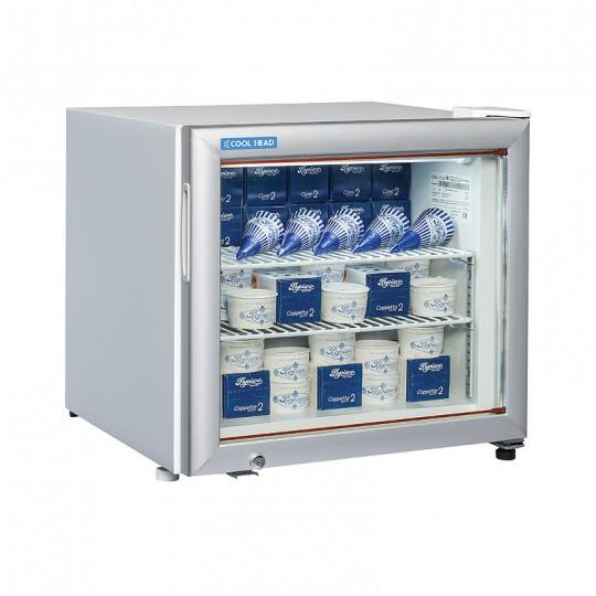 Armoire de congélation, 1 porte vitrée, 48 litres, 2 étagères, -15°/-20°C