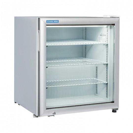 Armoire de congélation, 1 porte vitrée, 88 litres, 3 étagères, -15°/-20°C
