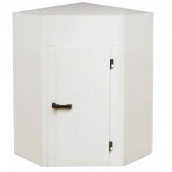 Chambre froide, modèle angulaire, épaisseur 100 mm, h2480 mm, 1320x1320 mm