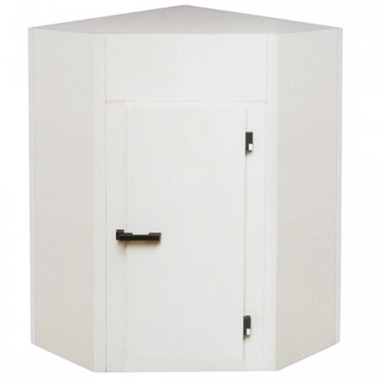 Chambre froide, modèle angulaire, épaisseur 100 mm, h2480 mm, 1700x1320 mm