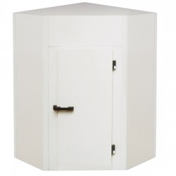 Chambre froide, modèle angulaire, épaisseur 100 mm, h2480 mm, 1700x1700 mm