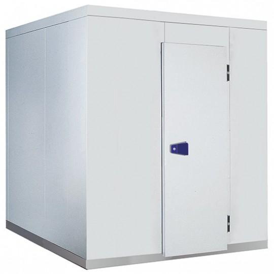 Chambre froide, épaisseur 100 mm, h2480 mm, 2460x2460 mm