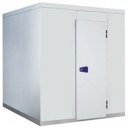 Chambre froide, épaisseur 100 mm, h2480 mm, 3600x3600 mm