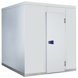 Chambre froide, épaisseur 100 mm, h2480 mm, 2840x3220 mm