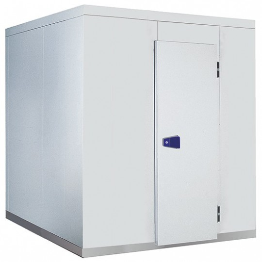 Chambre froide, épaisseur 100 mm, h2480 mm, 2840x5500 mm