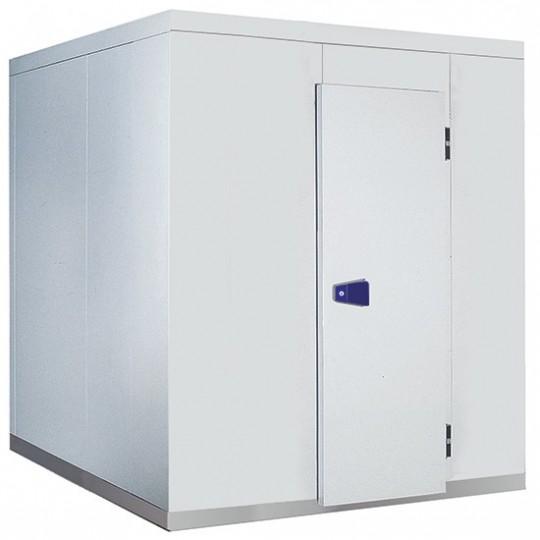 Chambre froide, épaisseur 100 mm, h2480 mm, 3600x5500 mm