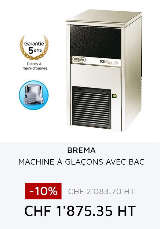 Brema - Machine à glaçons avec bac