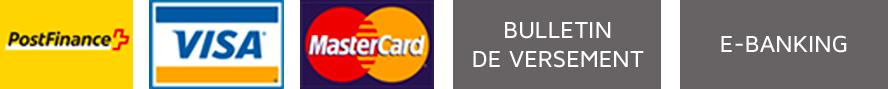 Logos de paiement